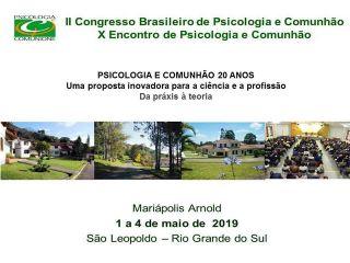 I Congresso Brasileiro de Psicologia e Comunhão