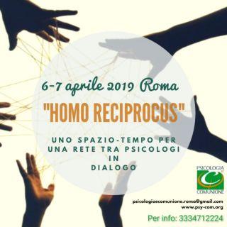 """""""Homo Reciprocus"""", uno spazio tempo per una rete tra psicologi in dialogo."""