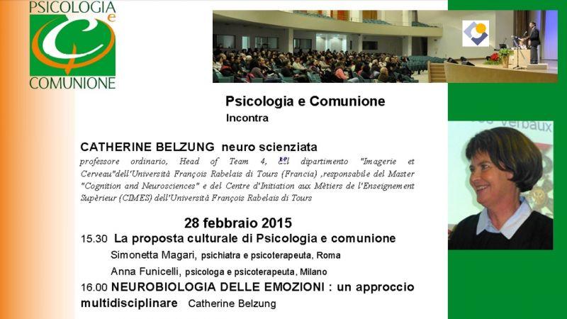 Psicologia e Comunione incontra Catherine Belzung